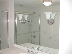 Custom Mirror with Cutouts