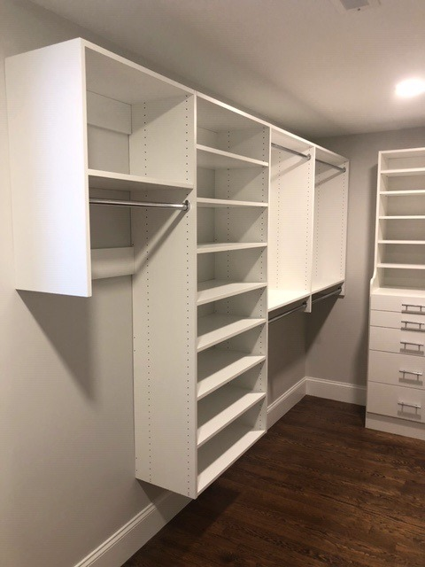 White Classica Combo of Shelving and Hang