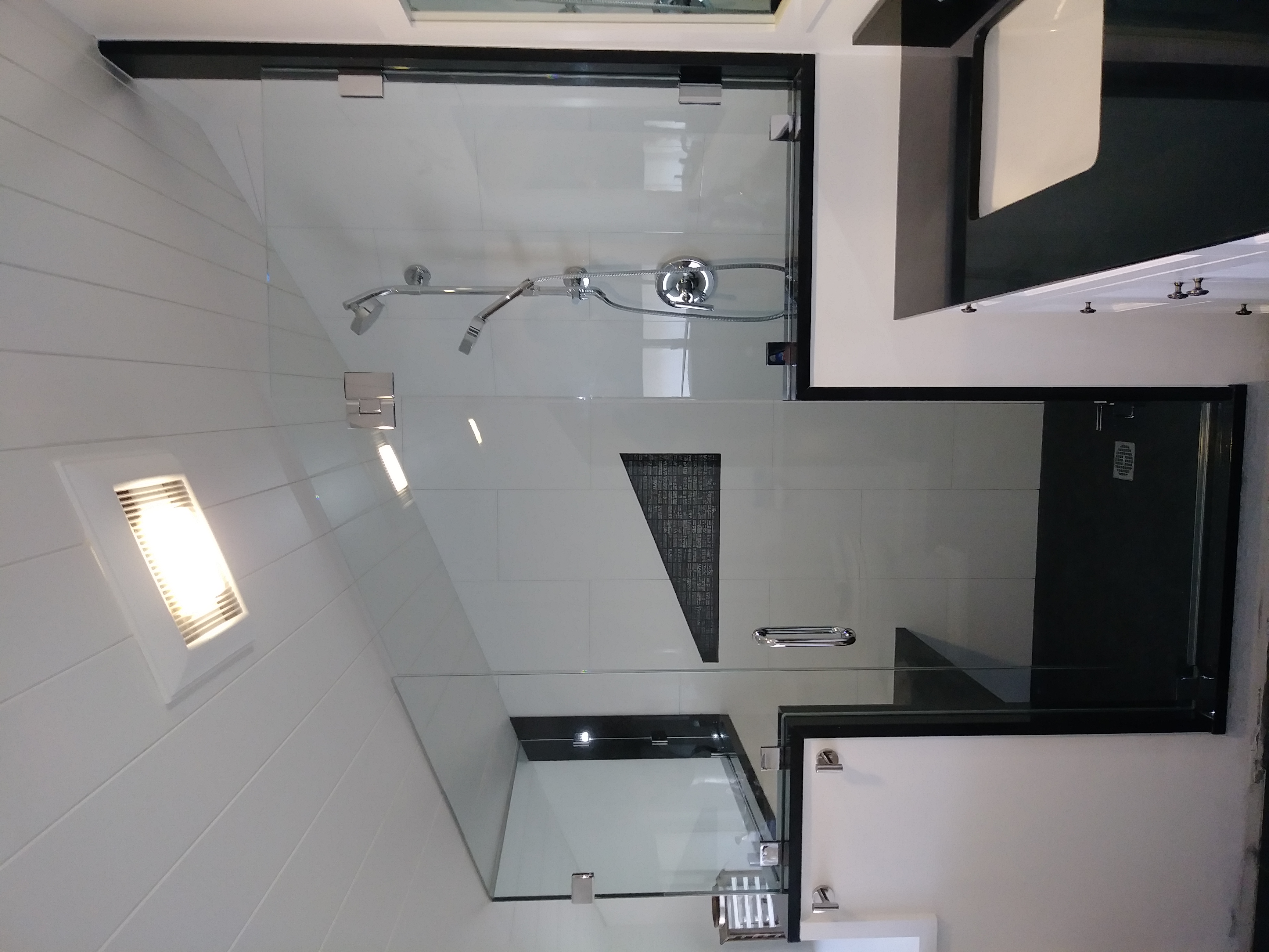 Slanted ShowerDoor