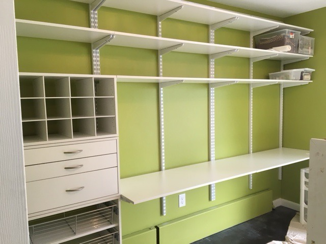 Craft Space w/ Cubbies & Drawer