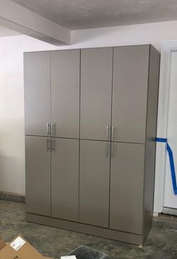 Century Grey Cabinets in Garage