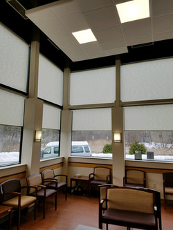 Roller Shades with Easyrise