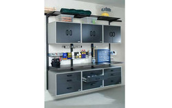 Cabinet & Wire Mesh Combo