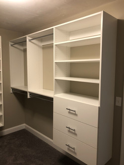 "White Classica w/ 10"" Drawers"