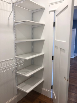 Shelving and Wire Hang combo