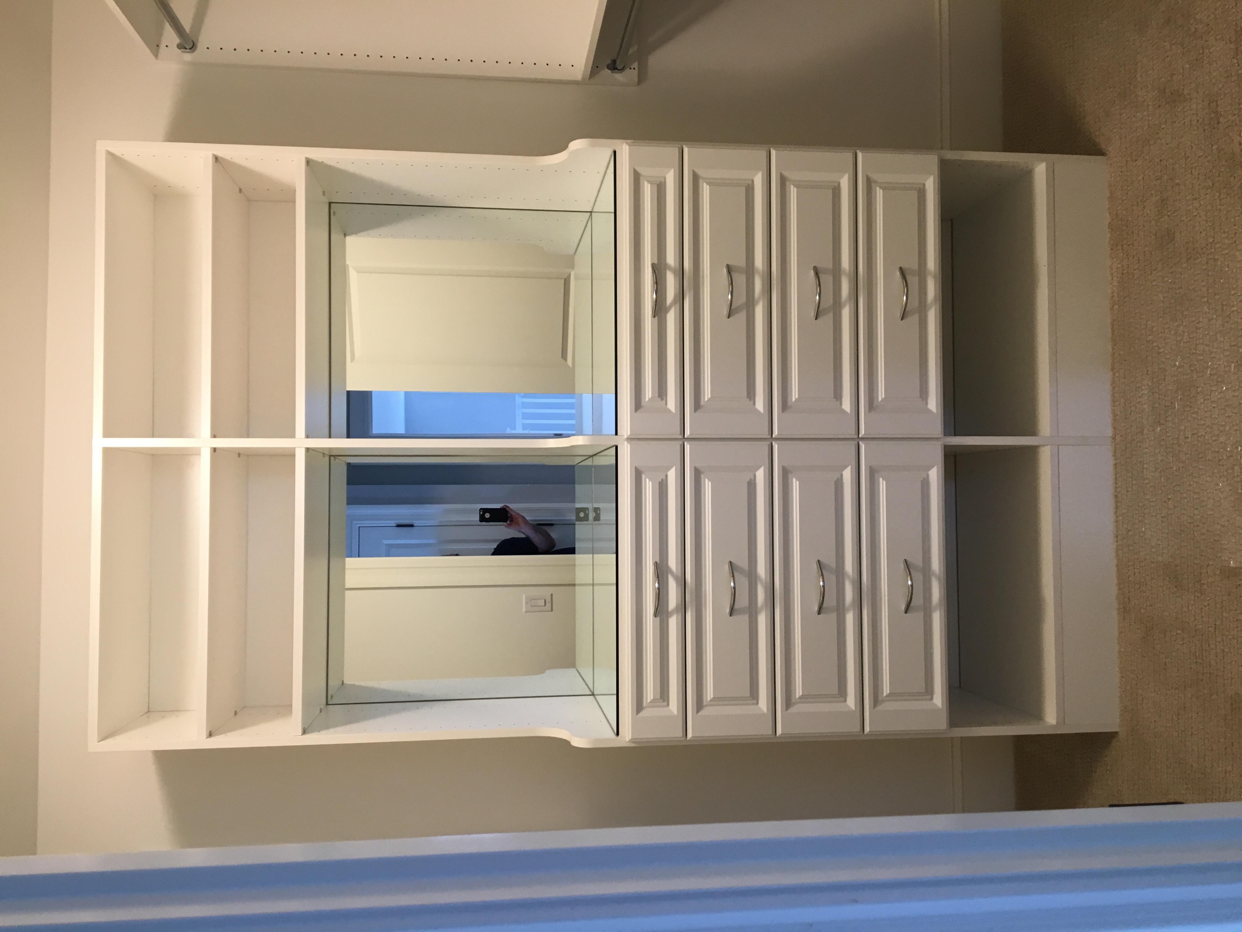 Plate Mirror inside Hutch Unit