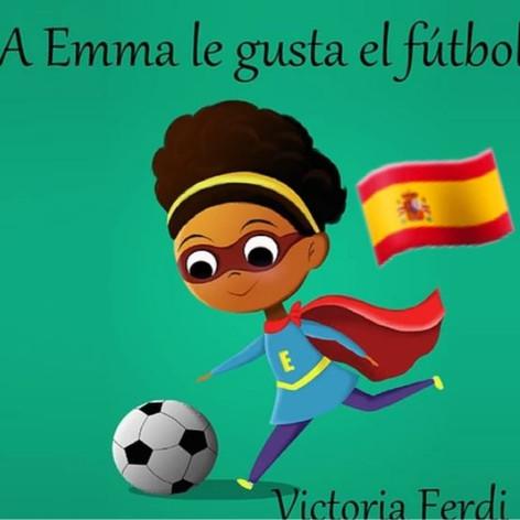 A Emma le gusta el fútbol