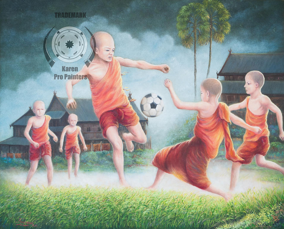 Monks at Play