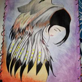 Spirit Within Bird Horse