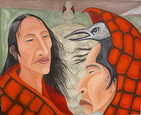 "Smith, Steve     ""Smallpox Blankets with Crow"""