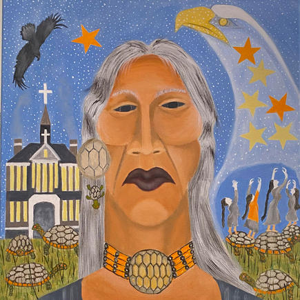 Eagle Spirit Brings the Lost Children Home to the Stars