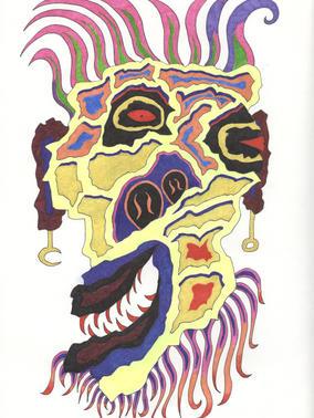 Spirit Mask 032