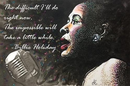 Erickson  -  Billie Holiday