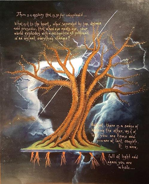 "Alvarez, Michelle  |  ""Orion Nebula with Tree of Souls"""