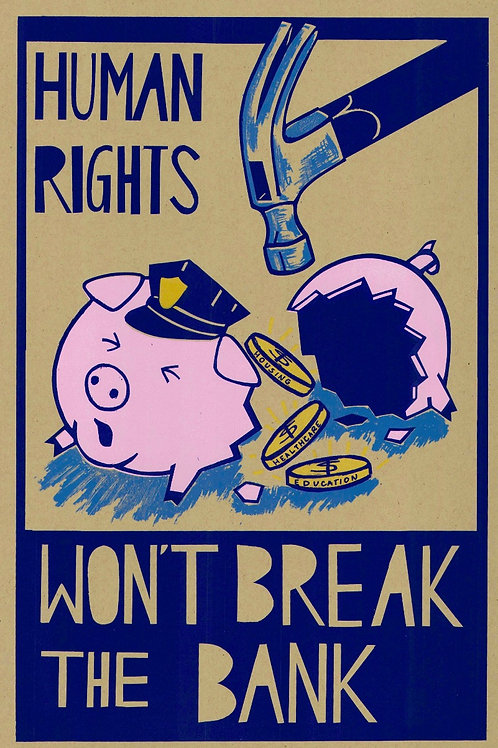 Ariza - Human Rights Won't Break The Bank