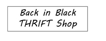 Back in Black Thrift Shop