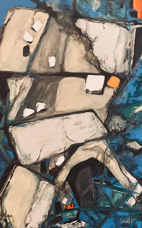 "Garrigan, MaryBeth     ""Acrylic on Canvas"""
