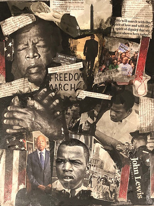 Trevino - John Lewis - Leader for Peace and Freedom