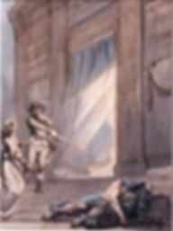 Tableau de Loge du 1er grade du Rite de la Haute Maçonnerie Egyptienne de Caglisotro