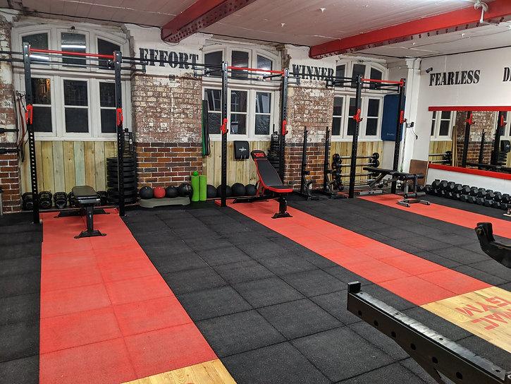 NMAC Gym Free Weights