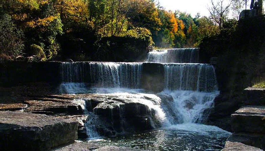 Photo of Seneca Mills waterfall