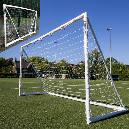 Q-Fold Goal 12' x 6' and Target Net Offer