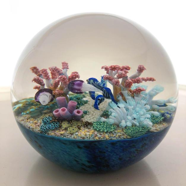 "Cathy Richardson Magnum 4"" Coral Reef"