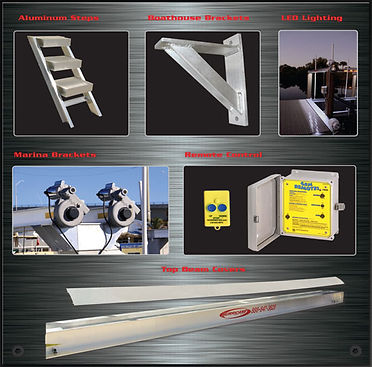 Hurricane Boat Lift Accessories -Largo Marine Supply