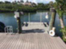 Elevator Boat Lift to Fun Pad Conversion