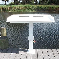 Fish Cleaning Table Pedestal 20210306.jp