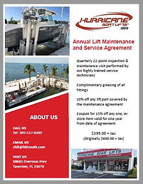 Annual Lift Maintenance & Seervice Agreement