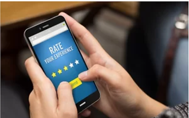Five-star business reviews