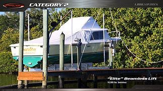 Elite Beamless Boat Lift