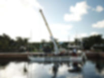 Hurricane Boat Lifts South Barge - Largo Marine Supply
