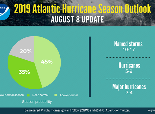 NOAA Increases Chance for Above-Normal Hurricane Activity