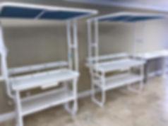 Largo Marine Supply fish cleaning table