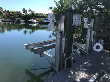 Elevator boat lift to Fun Pad Conversion