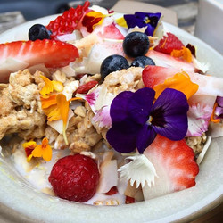 A colourful breakfast will brighten up your cold winter day