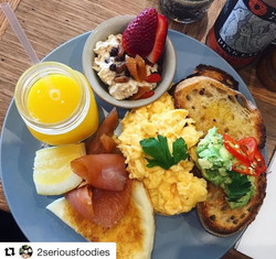 Having issues deciding_ Have a bit of everything like _2seriousfoodies breakie board with some sides