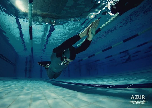 Pool training II - Natural light style | Azur-Diving