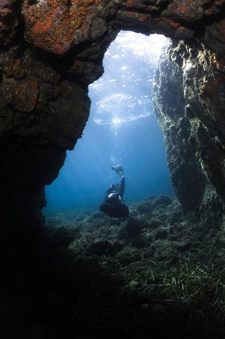 L'île des Vieilles Caves