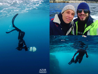 First freedive photo course!