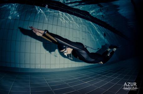 Alice Modolo Pool Training