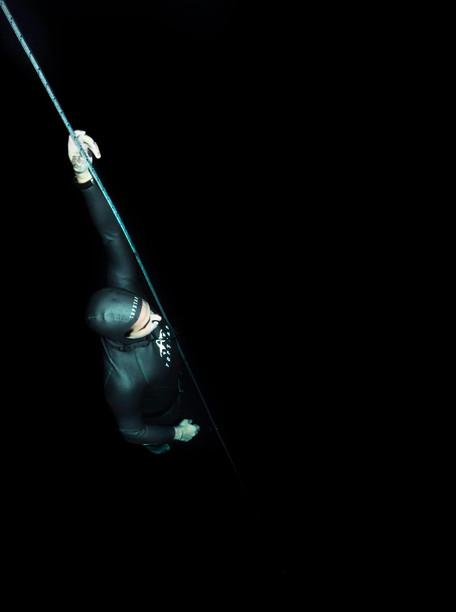 High contrast freediver
