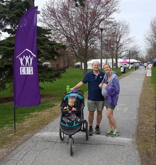 The Montys at the 2018 COTS Walk