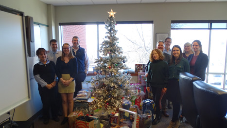 2019 Baystate Financial Vermont DCF Holiday Gift Drive