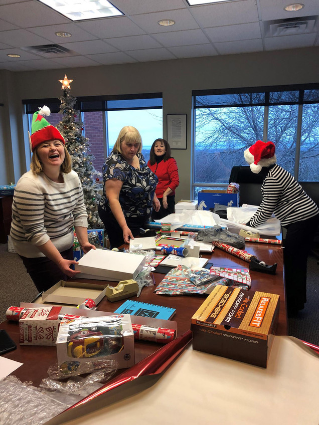 Holiday Wrap Party for Annual Baystate DCF Holiday Gift Drive