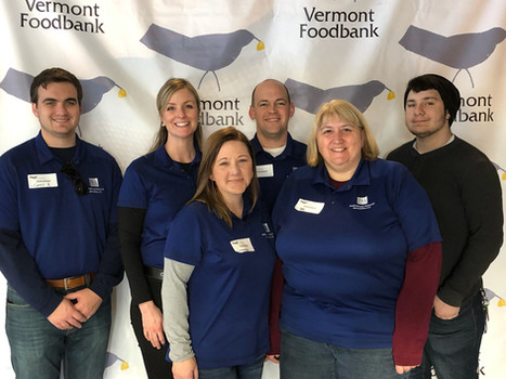 2018 Volunteer Day at the Vermont Foodbank
