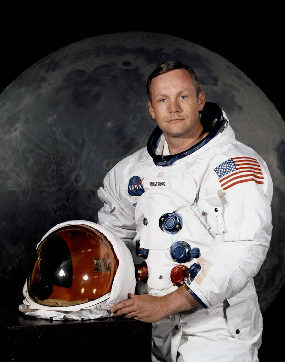 Official Portrait of Neil Armstrong