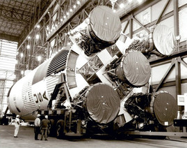 Saturno V estrena Propulsores